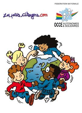 Les droits de l'enfant ont lieu partout dans le monde